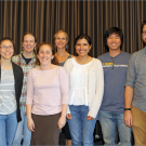 eight graduate students