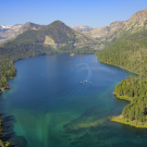 Emerald Bay at Lake Tahoe. (photo Brant Allen/UC Davis TERC)