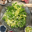 chopped lettuce salad