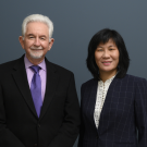 Professor Cameron Carter, School of Medicine (left), and Li Tian, associate professor in the Department of Plant Sciences will be co-directors of the Cannabis and Hemp Research Center at UC Davis. The center will guide and support cannabis- and hemp-related resea